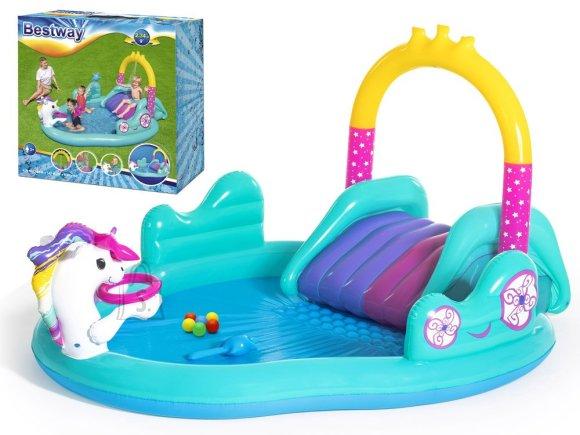 Bestway Bestway pool playground unicorn slide 53097