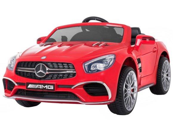 Elektriauto Mercedes punane