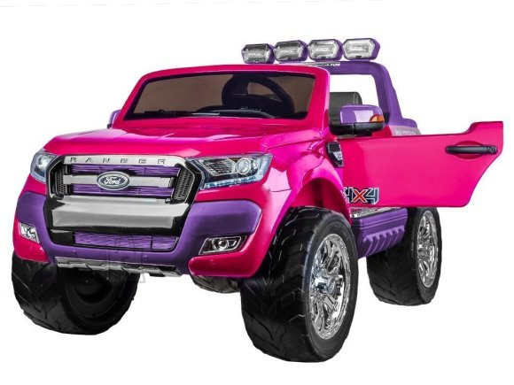 Elektriauto Ford Ranger roosa