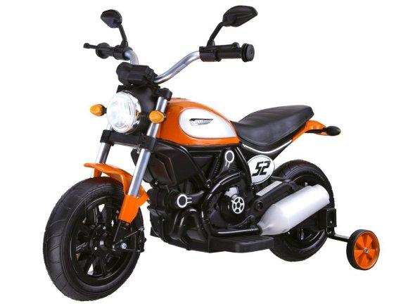 Elektriline mootorratas lastele oranž