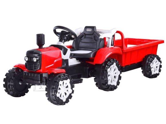 Elektriline järelkäruga traktor lastele