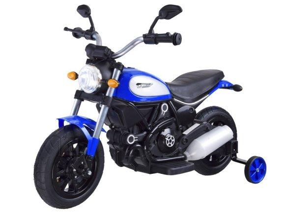 Elektriline mootorratas lastele sinine