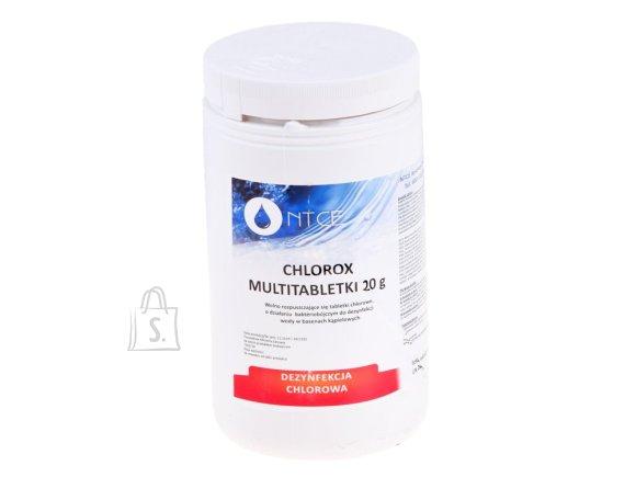 Chlorox Multitablets 20g Pool chemistry 1kg BA0565