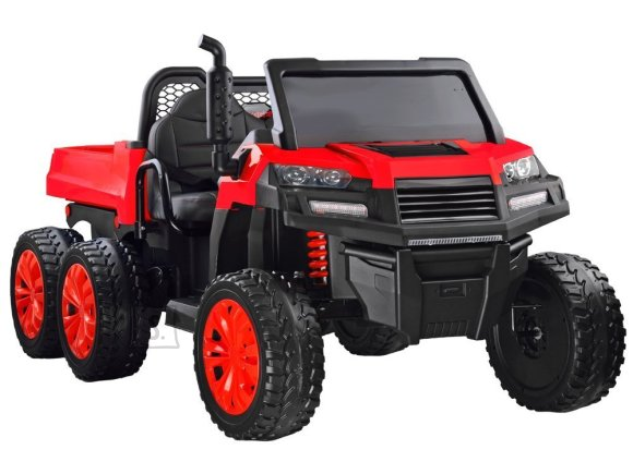 Kahekohaline elektriauto punane