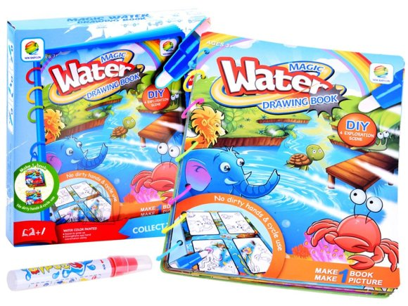 Creative water-painted picture book ZA2957