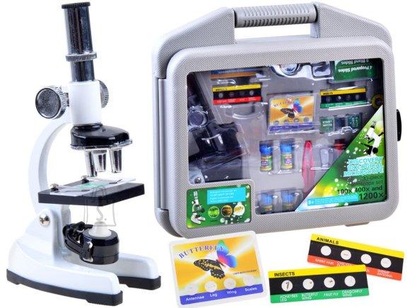 Mikroskoobikomplekt noorele teadlasele ES0024