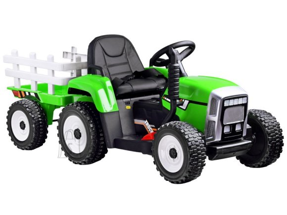 Tractor with a trailer for a battery + PA0242 remote control - roheline