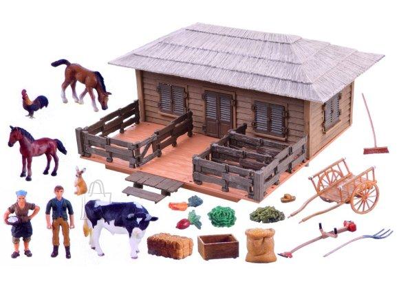 Mängukomplekt farmiloomad
