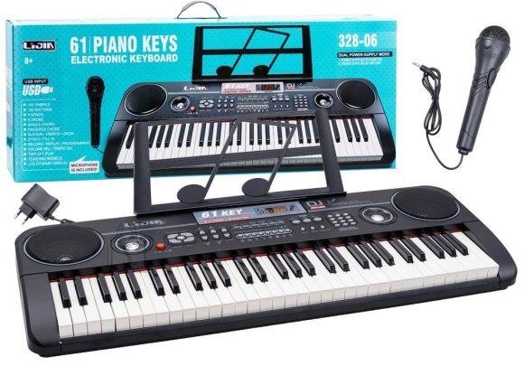Keyboard organs + microphone 61key 328-06 IN0082