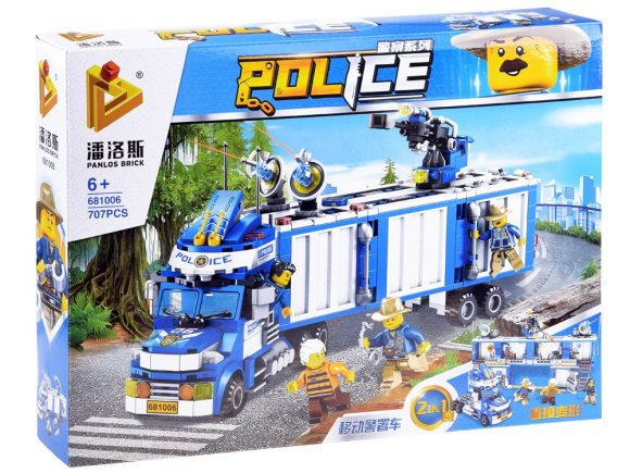 Ehituskomplekt Politsei 2in1