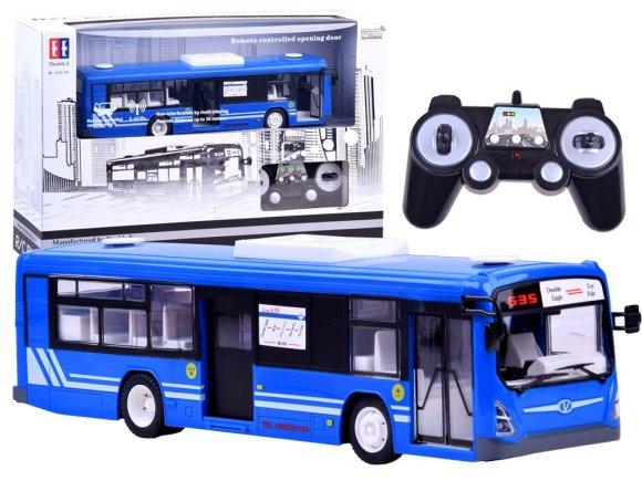 Raadioteel juhitav buss sinine