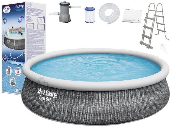Bestway Bestway Expanding pool 457x107cm 8in1 rattan 57372