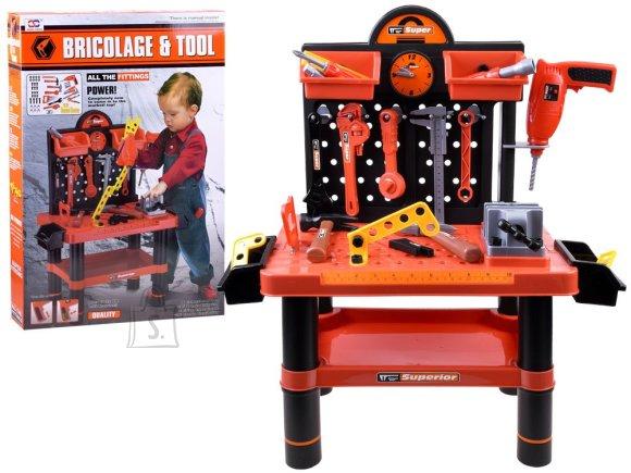 Tööriistakomplekt + laud lastele