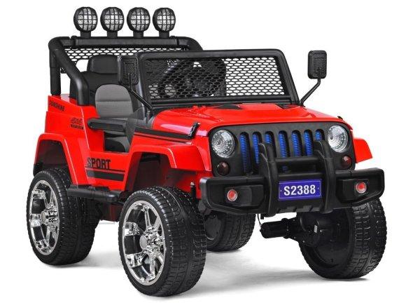 Elektriauto punane