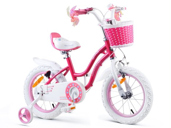 Royal Baby Girls' bicycle STAR GIRL 14 inch Pink RB14G-1