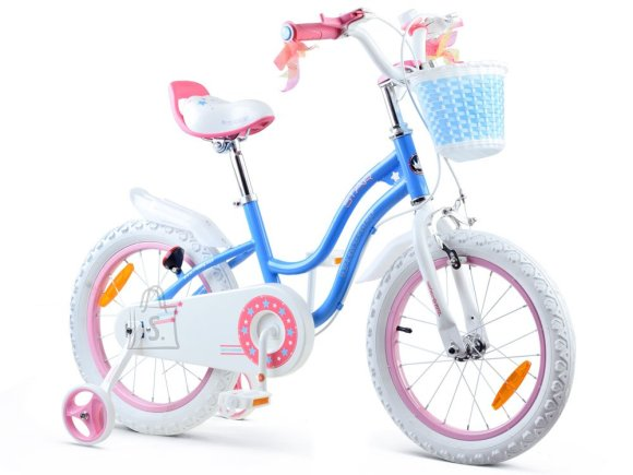 Royal Baby Girls' bicycle STAR GIRL 16 inch blue RB16G-1