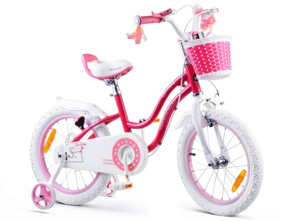 Royal Baby Girls' bicycle STAR GIRL 16 inch pink RB16G-1
