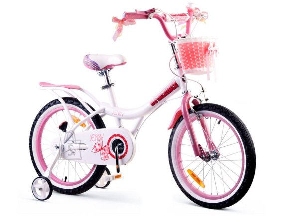 Royal Baby JENNY 18 inch bike + RB18G-4 basket
