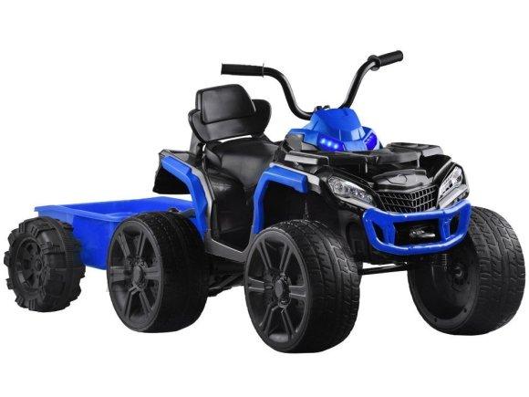 Järelkäruga ATV lastele sinine