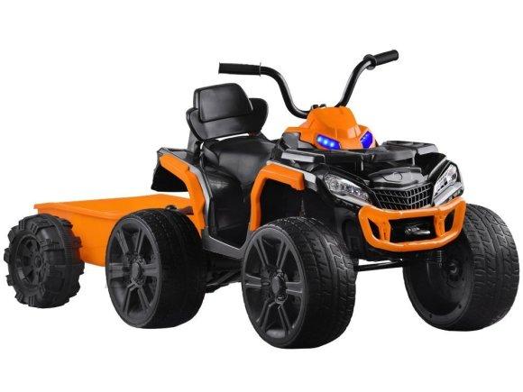 Järelkäruga ATV lastele oranž