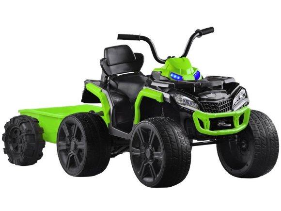 Järelkäruga ATV lastele roheline