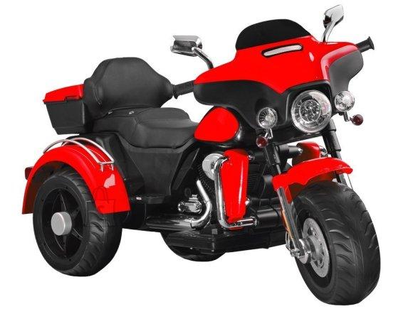 Elektriline mootorratas punane