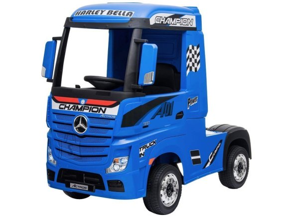 Elektriline veoauto Mercedes sinine