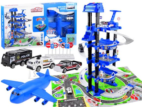 Autoparkla mängukomplekt