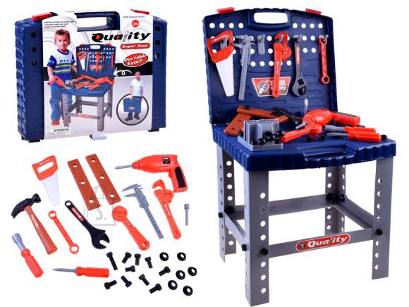 Mängu tööriistakomplekt lauaga