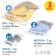 Artmoon art moon Trio Mesh pesukottide komplekt 3 tk 40X50cm 70X50cm 60X90cm