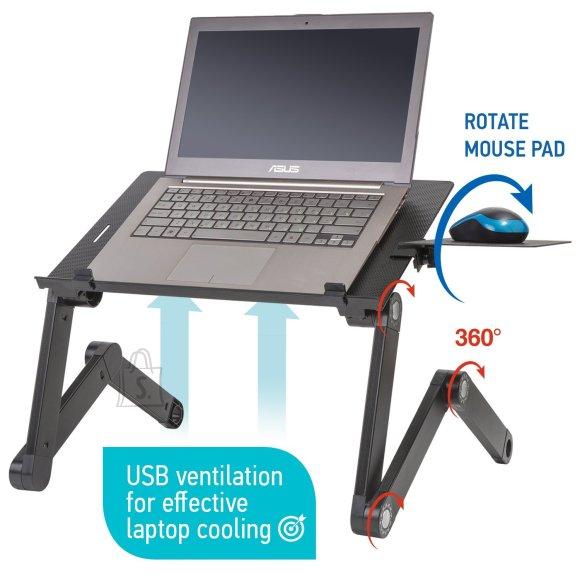 Tatkraft Wonder Worker Einstein kahe jahutiga reguleeritav sülearvuti alus