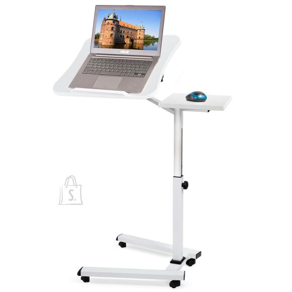 Tatkraft Tatkraft Like kokkupandav hiirealusega sülearvuti laud, valge