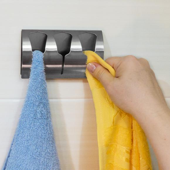 Tatkraft Tatkraft Bell isekleepuv 3-kohaline rätikuhoidja