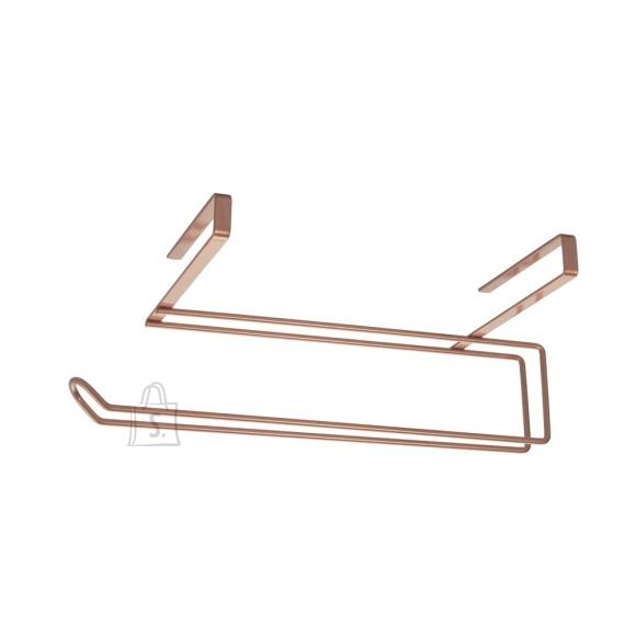 Paberirullihoidja Metaltex EasyRoll Copper, metall, 35x18x10cm