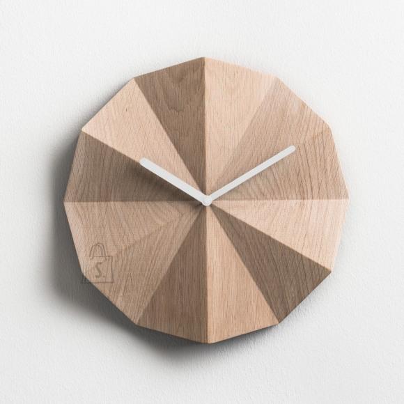 Lawa Design Delta Clock seinakell tamm