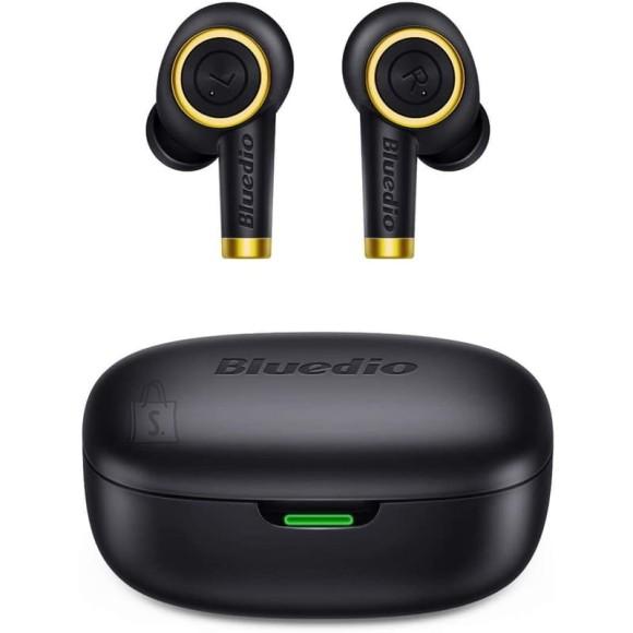 Bluedio sport stereo juhtmevabad kõrvasisesed kõrvaklapid Particle BT5.0