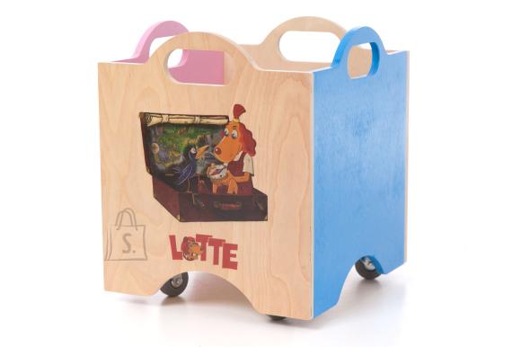 Ratastel mänguasjakast Lotte