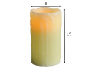 LED küünal 15cm