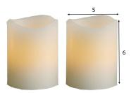 LED küünalde komplekt