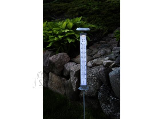 Päikesepaneeliga termomeeter