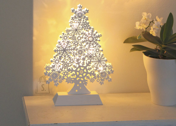 LED tuledega puu
