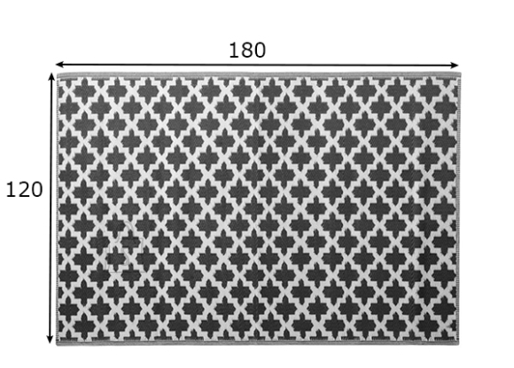 Plastikvaip 120x180 cm