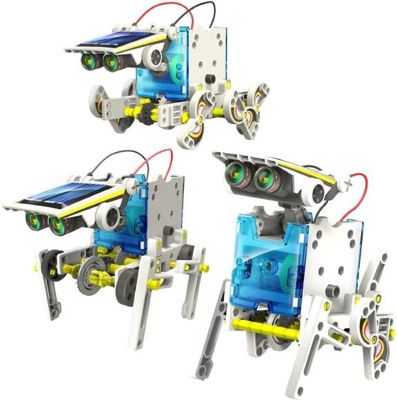 Õpetus robot päikesepaneeliga 14 In 1