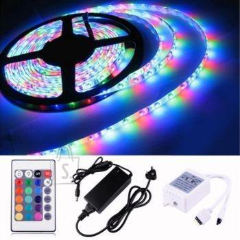 Niiskuskindel RGB tüüpi isekleepuv LED valguslint kaugjuhtimispuldiga