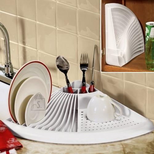 Mugav nurga nõudekuivatusrest - suurepärane viis hoida kööki korras!