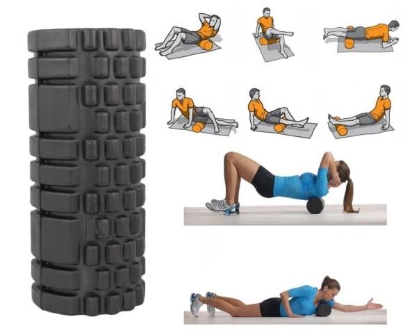 Rull-silinder pilateseks, massažiks ja kehaliseks fitnessiks