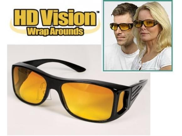 Prillid HD Vision kollaste peegeldusvastaste klaasidega.