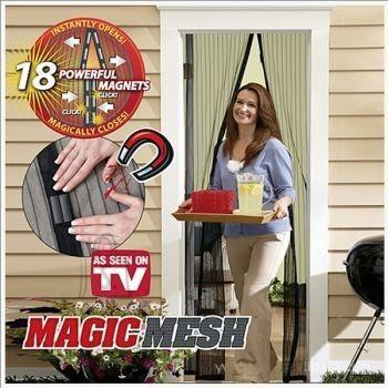 Magnetitega putukavõrk kaitsmaks kodu putukate eest