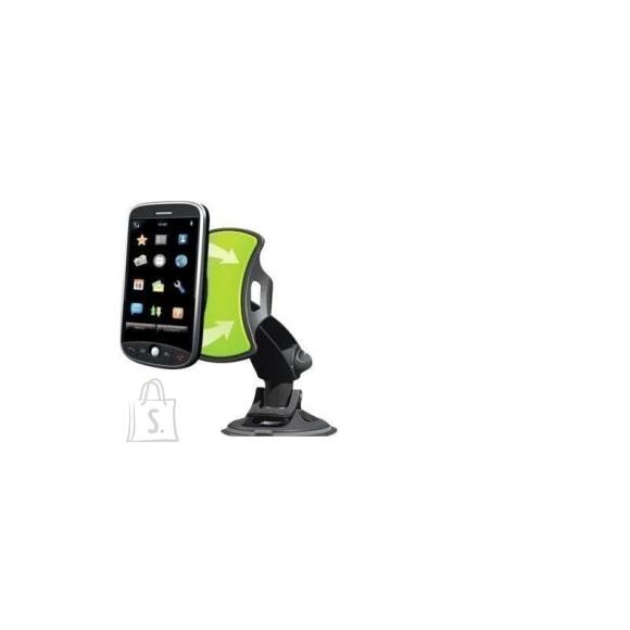 Universaalne GripGo hoidik telefonile või GPS-seadmele autosse.
