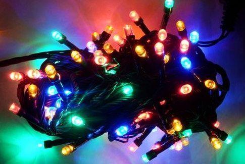 100 LED,7m RGB jõulutuled
